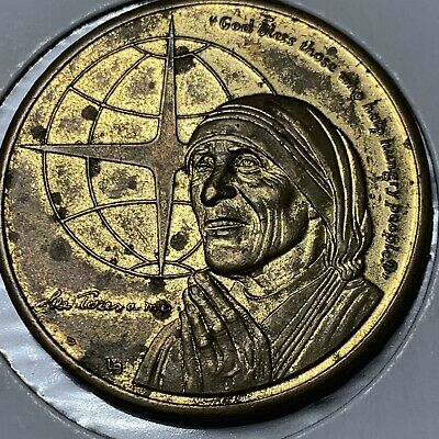 AU3.94 • Buy 1997 Turks & Caicos Islands 5 Crowns Coin Mother Theresa