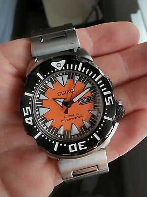 $ CDN516.97 • Buy Seiko Monster Divers Watch 2nd Gen SRP315K1 Automatic 4R36 On Bracelet