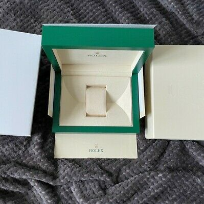 $ CDN477.28 • Buy Genuine Rolex Large Box With Outer Sleeve
