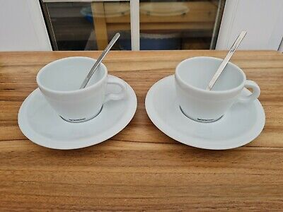 £15 • Buy Nespresso Professional Cappuccino Cups, Saucers & Spoons X 2
