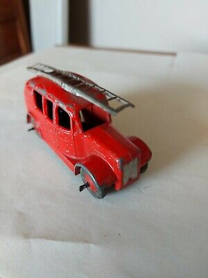 £10 • Buy Vintage Dinky Toys Red Streamlined Fire Engine Truck 250 25h 1950s