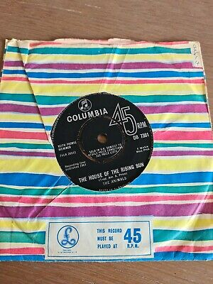 £3.99 • Buy The Animals- The House Of The Rising Sun/Talkin Bout You 45 Db 7301