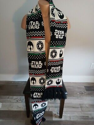 $15 • Buy Star Wars Scarf Holiday Christmas Extra Long Unisex