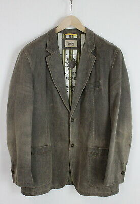 CAMEL ACTIVE 442680 Men's (EU) 56 Or ~X LARGE* Brown Faded Casual Blazer 35668_G • 22.55£