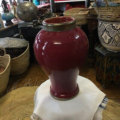 £26 • Buy Moroccan Hand Made Ceramic Vase(34 CmHigh 25 Cm Wide)