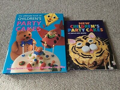 Set Of 2 Cake Decorating Books - Children's Party Cakes • 2.50£