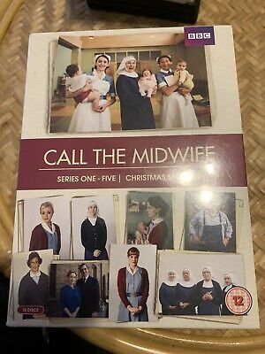 Call The Midwife Series 1-5 -1 2 3 4 & 5 Inc Christmas Specials DVD New/Sealed • 34.99£