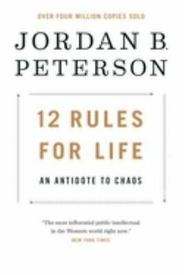 AU25.73 • Buy 12 Rules For LIfe: An Antidote To Chaos By Jordan Peterson (0345816021) Hardcov