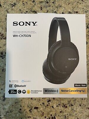 AU41.21 • Buy Sony WH-CH700N Wireless Over-Ear Headphones - Black (included Case)