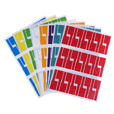 300Pcs Self-adhesive Cable Labels Waterproof Identification Tags StickersCWD PM • 3.82£