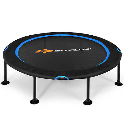 £49.99 • Buy 47  Fitness Trampoline Gym Exercise Jumping Bed Foldable Rebouncer Safety Pads