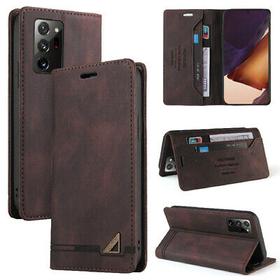 $ CDN10.30 • Buy Magnetic Wallet Leather Case Cover For Samsung Galaxy Note 20 Ultra 10 Plus 9 8