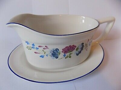 £14 • Buy Vintage Bhs  Priory Tableware Made In Britain Gravy Boat &saucer  Excellent