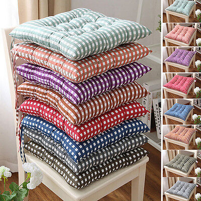AU12.73 • Buy Garden Patio Chair Office Seat Pads Tie On Pad Cushion Kitchen Home Decor .fRN