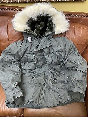 $ CDN247.71 • Buy US. Military Issue  Extreme Cold Weather N-3B Parka Jacket Coat Size XLarge New