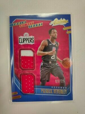 AU2.56 • Buy [n] 2021 The Absolute Tools Of Thr Trade Patrick Beverly /25 Patch
