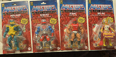 $119.98 • Buy Masters Of The Universe Wave 3 Complete Set New 2021 ROBOTO ZODAC MER-MAN SHE-RA