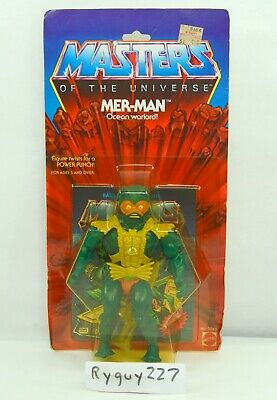 $4500 • Buy MOTU, Mer-Man, 8-back, Masters Of The Universe, MOC, Sealed Figure, He-Man, MOSC