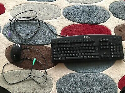 Original Dell KEYBOARD AND MOUSE SET QWERTY UK LAYOUT PC COMPUTER  • 6£