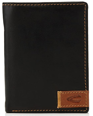 Camel Active California Leather Wallet / Coin Pouch, Black  - New In Box • 34.95£