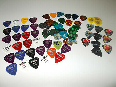 $ CDN14.46 • Buy Lot Of 65+ Guitar Picks; Alice- Death Punch Masot & Other Variety Of Thicknesses