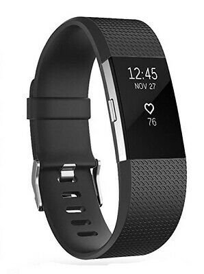 $ CDN7.25 • Buy POY - Replacement Band For Fitbit Charge 2 - Small, Black - X001VJ62B1 - NEW!