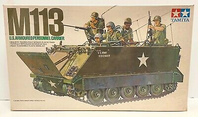 $24.95 • Buy Tamiya US M113 Armoured Personnel Carrier CA140 1:35 Scale Model Kit 35040