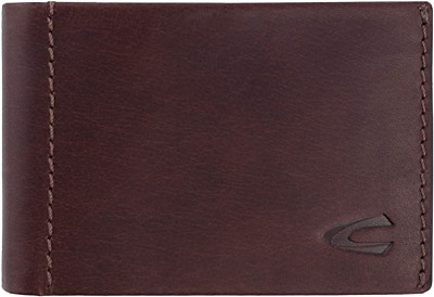 Camel Active Niagara Small Leather Wallet / Coin Pouch, Brown  - New In Box • 27.95£