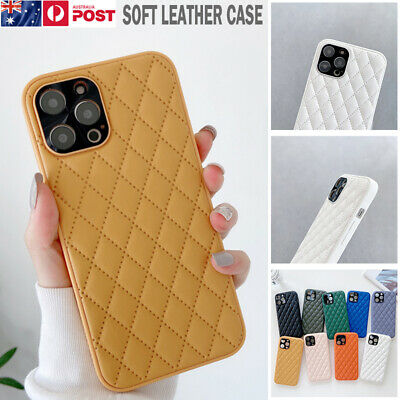 AU11.89 • Buy For IPhone 12 11 Pro Max XS XR 8 7 Plus Case Luxury Leather Soft Silicone Cover