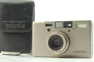 $ CDN2358.61 • Buy 【 MINT 30.5 Adapter 】 CONTAX T3 Double Teeth Silver Point & Shoot From JAPAN#72