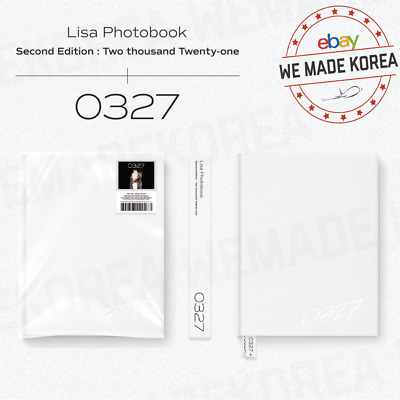 $ CDN90.14 • Buy BLACKPINK LISA Photobook [0327] Vol.2 Second Edition + Bookmark + Sticker Set