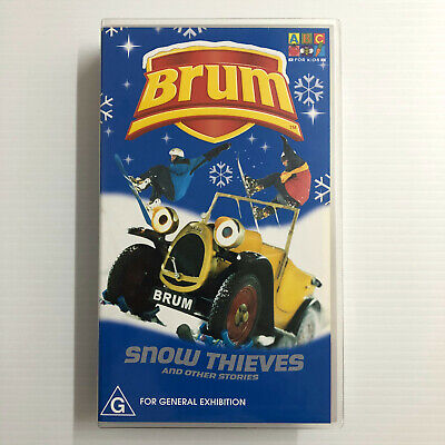 £27.08 • Buy Brum: Snow Thieves And Other Stories. NEW SEALED VHS Video Tape ABC Kids Car