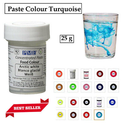 £5.81 • Buy PME Paste Colour Concentrated Edible Food For Sugarpaste Icing Gumpaste Cake Mix