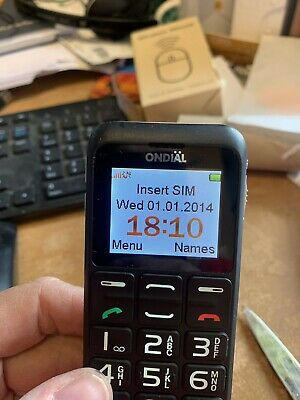 Ondial 9861 Large Button Mobile Phone For The Elderly • 4.80£