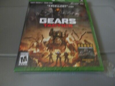 $15.99 • Buy Gears Tactics Microsoft Xbox One Series X Brand New Sealed Damaged Case