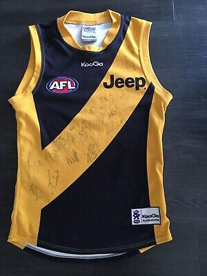 AU155.50 • Buy AFL Richmond Tigers Jersey Number 49 Player Edition Signed