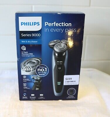 AU229 • Buy Philips Series 9000 V-Track Pro Wet And Dry Electric Shaver - Grey
