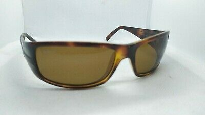 AU37.39 • Buy Authentic Ray-Ban Mens Polarized Vintage Sunglasses Brown RB4057 642/57