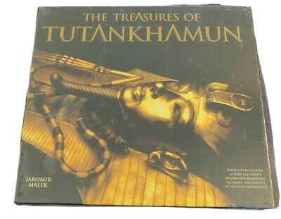 £16.55 • Buy The Treasures Of Tutankhamun Book In Case With Facsimile Documents King Tut  NEW