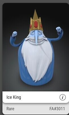 $139.78 • Buy RARE ADVENTURE TIME ICE KING FA#3011/3250 Veve NFT COLLECTIBLE