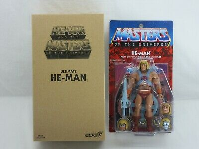 $275 • Buy MOTUC,ULTIMATE HE-MAN,SUPER 7,MASTERS OF UNIVERSE,CLASSICS,Sealed,MOC