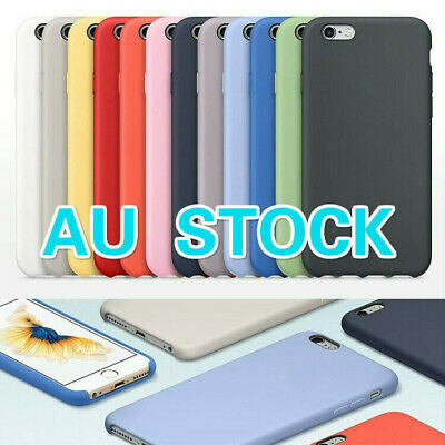 AU7.99 • Buy For Apple IPhone 6 6s 7 8 Plus X XR XS Max 11 Pro Max Silicone Case Cover