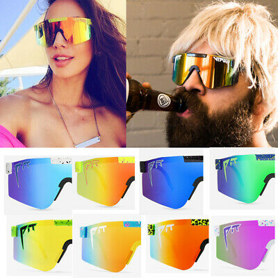 AU10.99 • Buy PIT VIPER Cycling Sports Goggles TR90 Polarized Sunglasses For Men/Women Outdoor