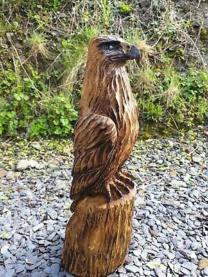 £109.99 • Buy Chainsaw Carved Hardwood Eagle