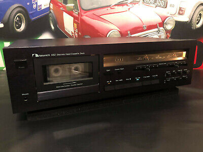 £399.99 • Buy Nakamichi 482 Discrete 3 Head Stereo Cassette Tape Deck Hi End Tested / Working