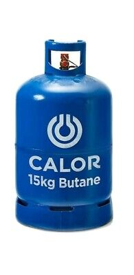 Full 15kg Calor Butane Gas Bottle. • 15£