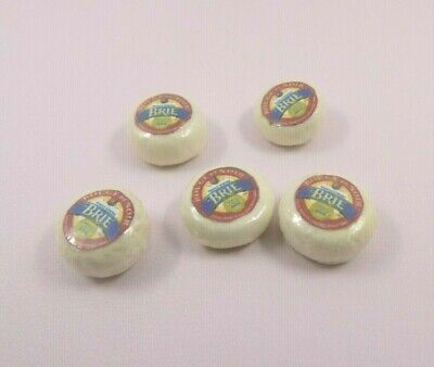 £1.20 • Buy  Dolls House Miniature Wrapped Brie Cheese X1-accessories-food-1:12 Scale