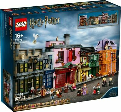 $ CDN603.39 • Buy NEW LEGO Harry Potter Diagon Alley (75978) Factory Sealed