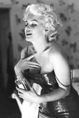 £4.89 • Buy Marilyn Monroe Chanel Favourit Perfume Advert Print Poster Wall Art Picture A4 +