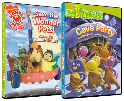 £13.12 • Buy Save The Wonder Pets / Cave Party (2 Pack) (bilingual) (dvd)